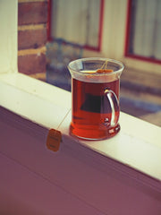 Tea on Window Sill