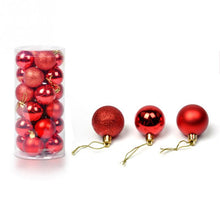 24 Christmas Tree Ornaments