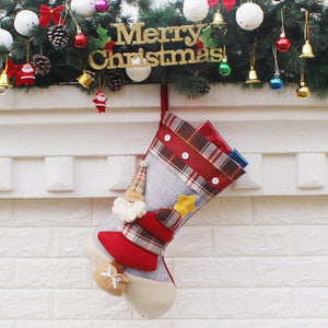 Christmas Stockings - Three Dimensional