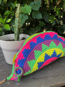 COLORFUL WAYUU HAND BAG
