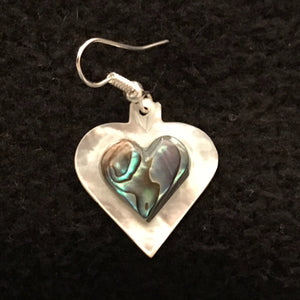 Abalone Heart Earrings JEA-2006