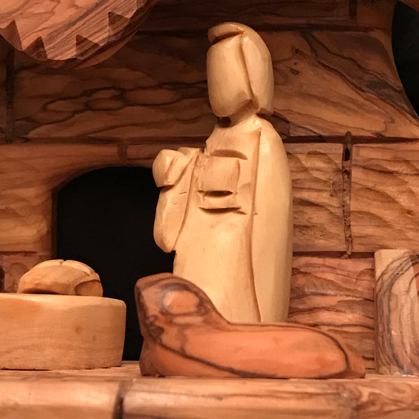 Musical Nativity Crib  NMM-3002