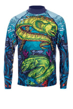 Gulgi Moray Eel men's rash guard