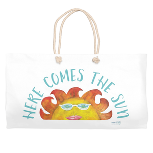 Here Comes The Sun Beach Bag