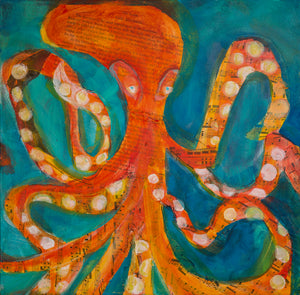 Octopus - *Limited Edition* - Giclee Print On Canvas