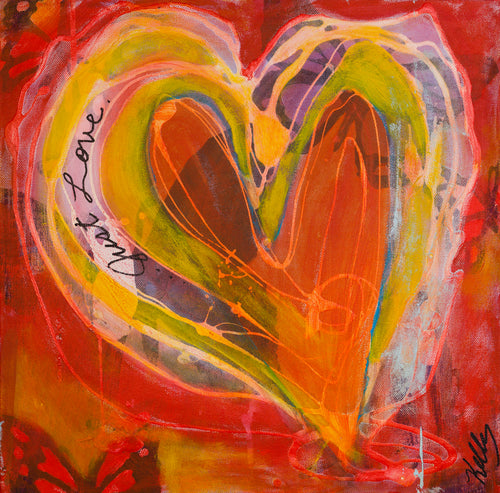 Just Love - *Limited Edition* - Giclee Print on Canvas