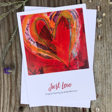 "Card ""Just Love"""