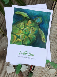 "Card ""Turtle Love"""