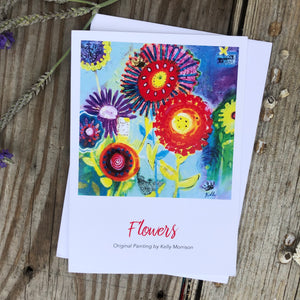 "Card ""Flowers"""