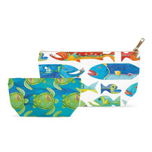 Turtle Print Accessory Pouch