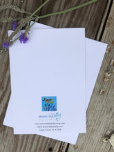 "Card ""Blue Flowers"""