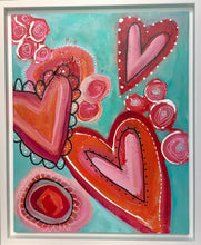 """Hearts and Flowers""  Original"