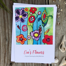 "Card ""Eva's Flowers"""
