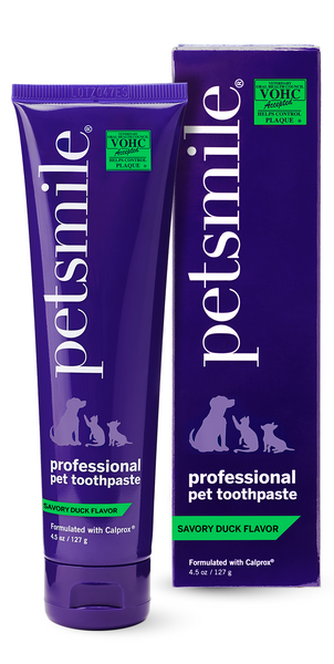 Petsmile Professional Pet Toothpaste - Savory Duck - Large, Toothpaste, Petsmile, petsmile, best pet toothpaste, best dog toothpaste, oral care for dogs, dog health, cat health, cat toothpaste, vohc recommended, veterinarian recommended,