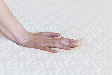 Hand on High Quality Memory Foam