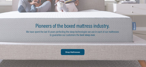 pioneers of the boxed mattress industry