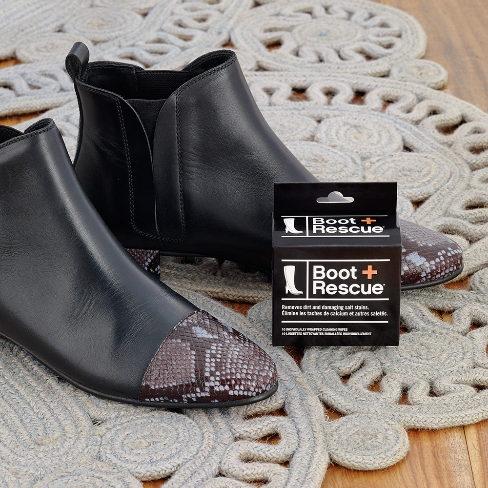 Shoe Lovers Bundle - Portable All-Natural Cleaning Wipes for Boots & Shoes