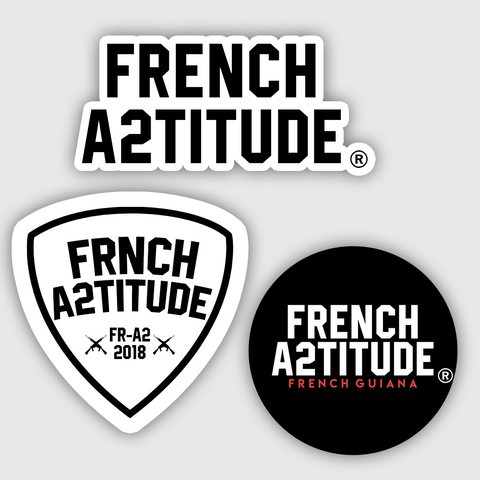Stickers - Lot de stickers French A2titude®