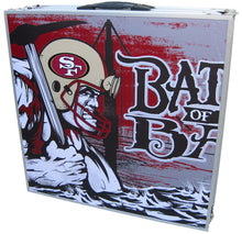 Battle of the Bay Beer Pong Table with Holes - Beer Pong Table