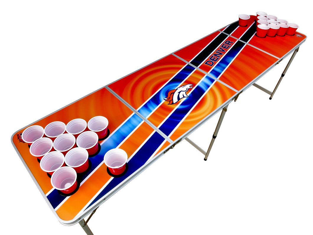 Denver Broncos Pong Table