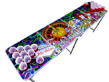 Alice in Las Vegas Beer Pong Table - Beer Pong Table