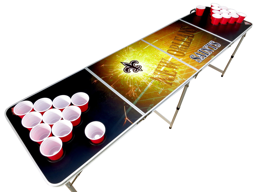 New Orleans Saints Beer Pong Table