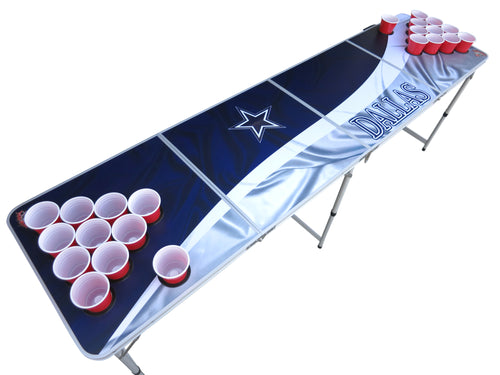 Dallas Cowboys Beer Pong Table - Beer Pong Table