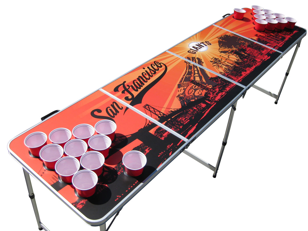San Francisco Giants Beer Pong Table - Beer Pong Table