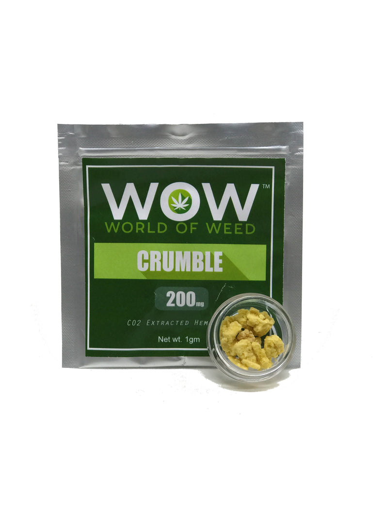 WOW Crumble CO2 Extracted Hemp Oil