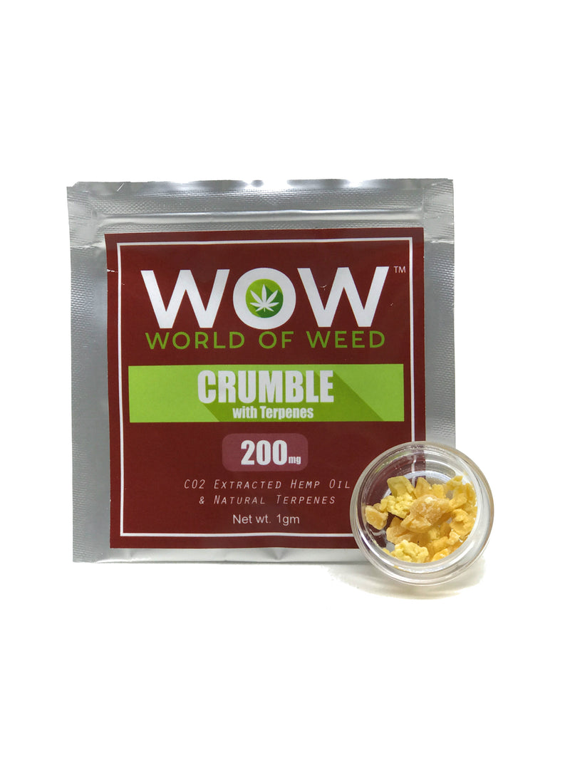 WOW Crumble With Natural Terpenes