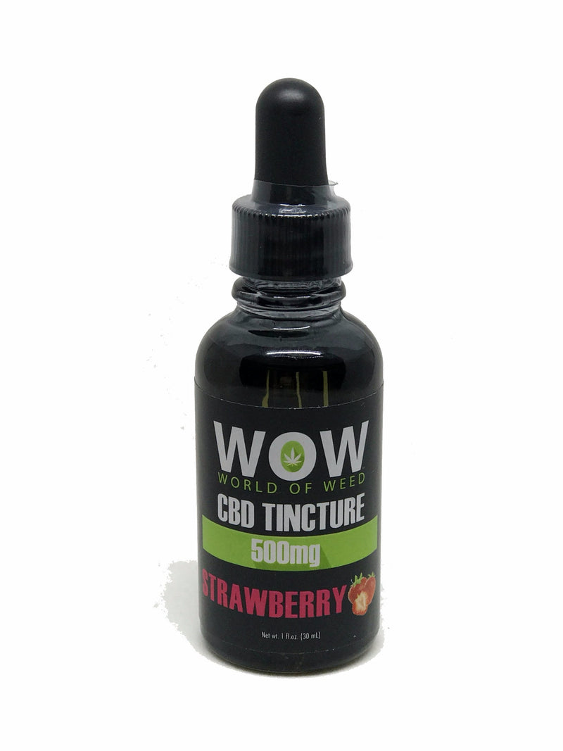 CBD Tincture - Strawberry - 500mg