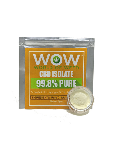 WOW CBD Isolate Pure Crystal CBD