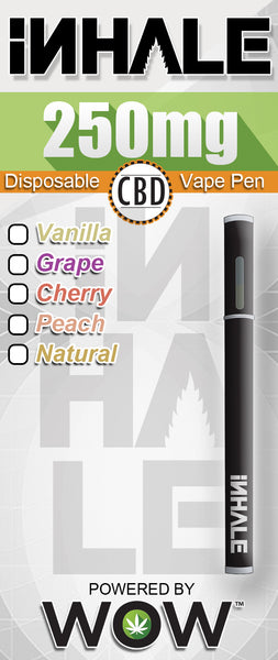 WOW iNhale- Vape Pens 250-1000mg