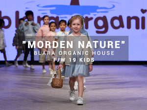 Blara's Natural Dyeing Kids Collection On Vancouver Fashion Week F/W '19