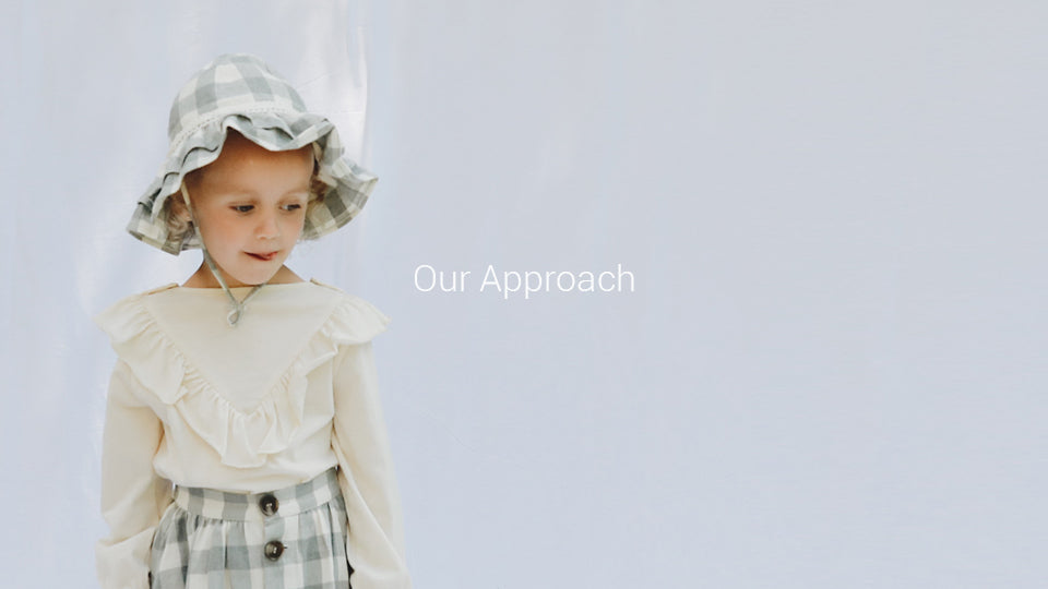 We are a Vancouver-based company designing 100% organic cotton