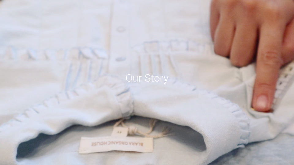 Blara Organic House designs products made from certified organic cotton and other natural fibres