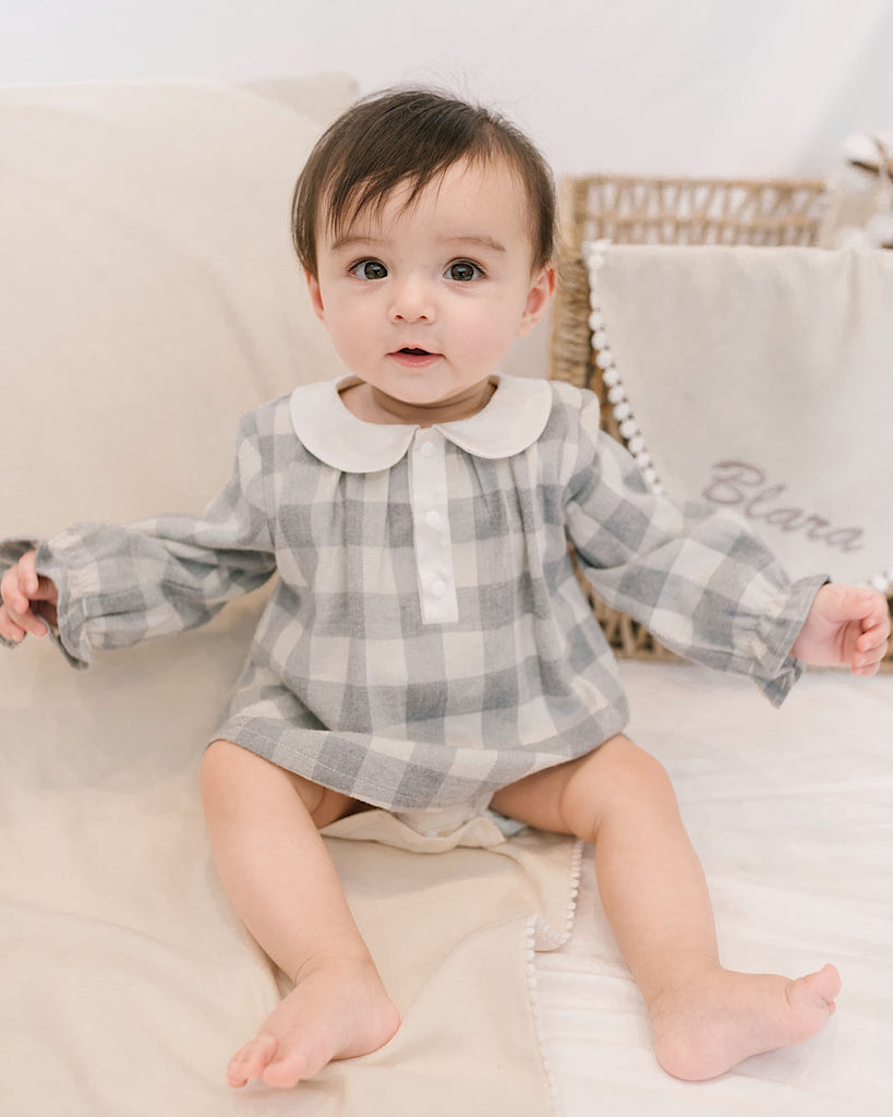 CHECKER GIRL BODYSUIT
