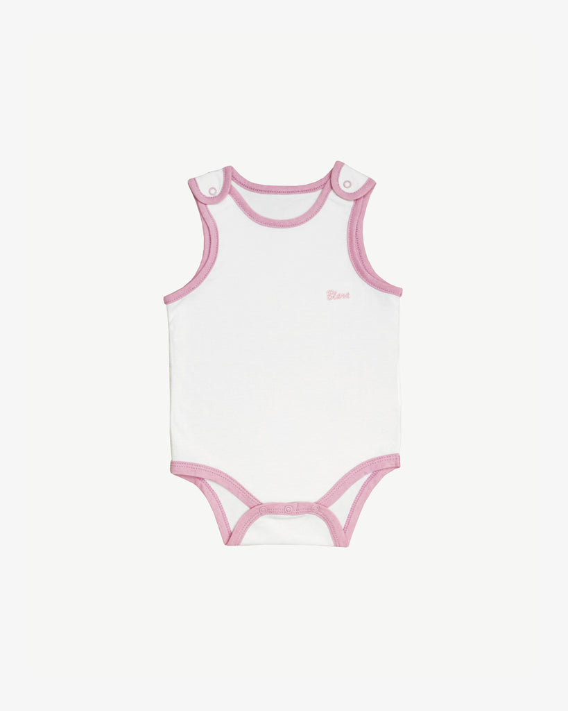 This sleeveless bodysuit will keep your baby comfortable during the warmest days of summer!