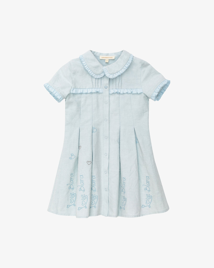 Blara Pretty Princess Dress in Cotton | Blara Organic House | Sustainable Fashion for Girls