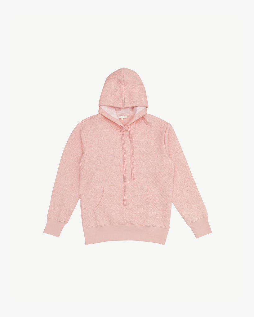 Pink - Snug Up Cotton Hoodie | Blara Organic House | Sustainable Fashion for Women