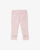 Lilac Pink - Love Blara Girl's Jeans with Embroidery | Blara Organic House | Sustainable Fashion for Girls