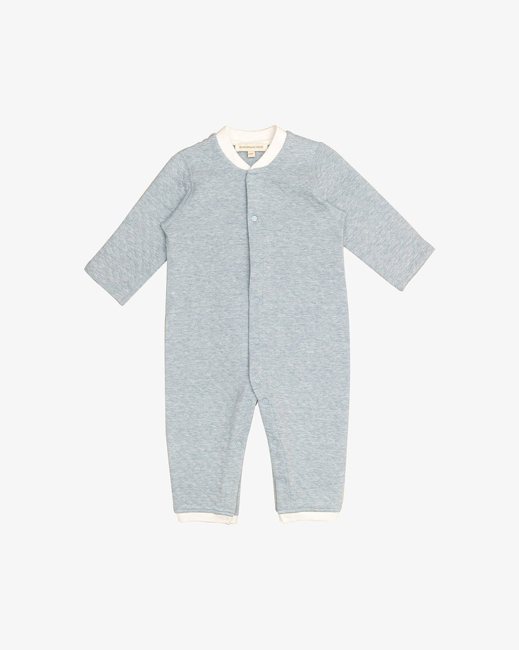 BACK EMBROIDERED DOUBLE-LAYERED COVERALL