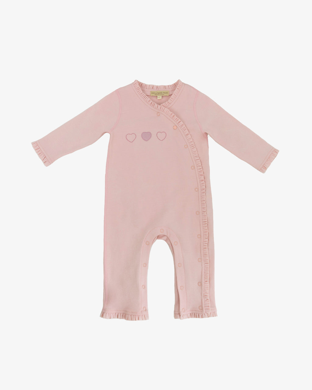 GIRL'S RUFFLE COVERALL