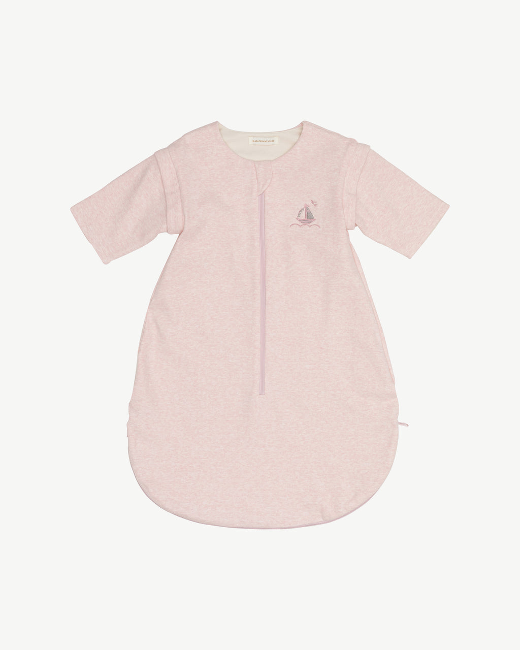 Pink Blara Nap Time Sleep Sack - Organic Cotton | Blara Organic House | Sustainable Baby Clothing