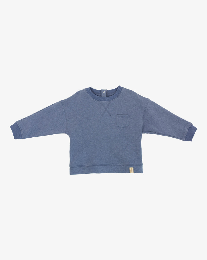 BOY'S CREW NECK LOOSE SWEATSHIRT