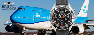 747 tribute Aviator Watch by Bristol Watch Company