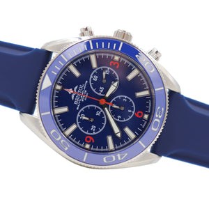 Space Shuttle Atlantis - Blue Dial, Blue Silicone Band - Bristol Aviator Watches, Bristol Watch Company, www.bristolwatchcompany.com