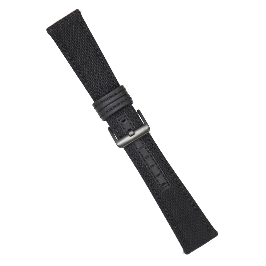 Strap - Black Kevlar Strap - 24mm - Bristol Aviator Watches, Bristol Watch Company, www.bristolwatchcompany.com