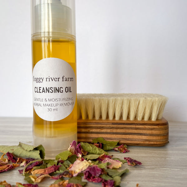 Cleansing Oil | Gentle Herbal Makeup Remover