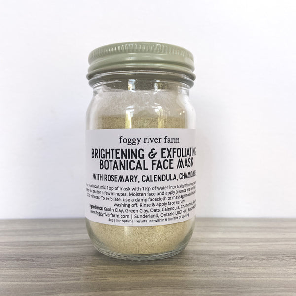 Brightening & Exfoliating Face Mask